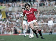 Stuart Pearson in action for Manchester United during his guest appearance in a Testimonial match for Sir Matt Busby, at Old Trafford in Manchester on August Get premium, high resolution news photos at Getty Images Retro Football, Football Kits, Matt Busby, Manchester United Football, Old Trafford, Fa Cup, Man United, Legoland, How To Memorize Things