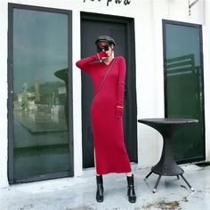 #Fall2021collection #Falloutfits #Fallcollection #FallWear #Autumnwear #fashionintrend #womenfashion #Expressyourself #autumncollection #auntumndress $70.00 $41.59 Look Fashion, Fashion Outfits, Pinterest Fashion, Cute Fall Outfits, Casual Sweaters, Up Girl, Retro Dress, Fashion Colours, Types Of Sleeves