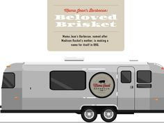 Mama Jean's Barbecue, named after Madison Ruckel's mother, is making a name for itself in BBQ. Brisket, Recreational Vehicles, Barbecue, Names, How To Make, Recipes, Food, Camper Van, Barbecue Pit