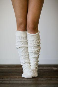 NEW Alpine Wool Blend Cuffed Knee High Thick Bulky Boot Socks - variety colors #calzescanzi #KneeHigh