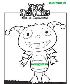Your Kids Can Create A Family Tree With This Fun Henry Hugglemonster Printout