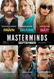 Masterminds (2016) Full Watch HD Online movies