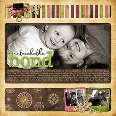 Again, digital but cute. I'm not a fan of doing digital layouts so I may try this with paper! Layout by jacinda