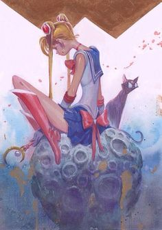 Twitter / RustamHasanov2: Heard the Q-Pop Sailor Moon ...