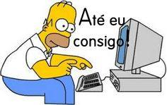 Homer trabalha em casa