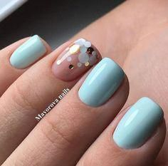 We give you full permission to break out of your winter rut and start swapping your deep, dark shades for these bright spring nail colors - Spring Break nails Short Nail Designs, Nail Designs Spring, Simple Nail Designs, Nail Art Designs, Spring Design, Spring Nail Colors, Spring Nail Art, Spring Nails, Winter Colors