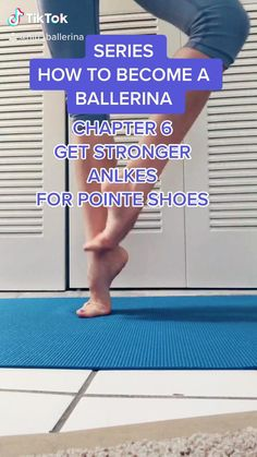 Stronger ankles for ballet pre-pointe and pointe shoes work Ballet Dance Videos, Dance Tips, Ballet Dancers, Ballet Feet, Ballet Shoe, Ballet Class, Fitness Workouts, Gym Workout Videos, Sport Fitness
