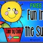Your students will enjoy practicing their addition and subtraction facts using the color code.  The pictures are activities they enjoy doing on a s...