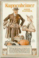 Vintage Halloween Ad ~ Kuppenheimer, circa 1920's