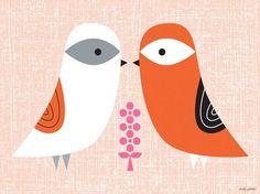 Blandford Birdies Canvas Art