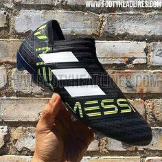 b1a1a0671165 Laceless Adidas Nemeziz Messi 17+ 360Agility Dust Storm Boots Leaked -  Footy Headlines Soccer Boots