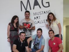 Con los cracks que han hecho posible este Gamestorming de Creatividad Zombie de Sinaia Marketing en Mustang Art Gallery