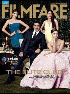 "Welcome the ""Elites"", Kareena, Akshay, Sonam and Alia on the cover of Filmfare   PINKVILLA"