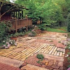 Recycled Brick Paving