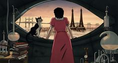 April and the Extraordinary World: Behind Gkids' Animated Adventure Set in an alternate steampunk world it's based on the graphic novel by Jacques Tardi. Anime Movies, Steampunk Movies, French Films, 2015 Movies, Animated Movies, Movies, Geek Movies, Film, World Movies