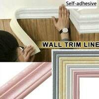 7 5ft Waterproof 3d Wall Border Wall Diy Decor Sticker Self Adhesive Kitchen Ebay Diy Wall Stickers Diy Wall Decals Pattern Wallpaper