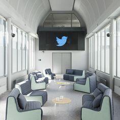 Les nouveaux bureaux de Twitter à Paris