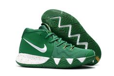 outlet store d53c8 2ba2e Men Nike Kyrie 4 Celtics PE Green White Gold For Sale,Cheap Nike Kyrie 4 ,  Newest Nike Kyrie 4 , Discount Nike Kyrie 4 , Authentic Nike Kyrie 4 For  Sale