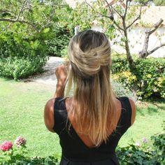 Demi bun  #braid#hair#blonde#boho#demiequeue#demibun