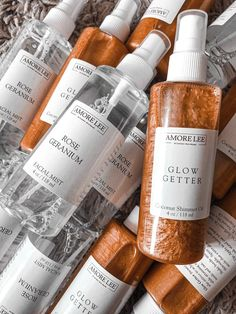 Rose Water Facial Spray – Amore Lee
