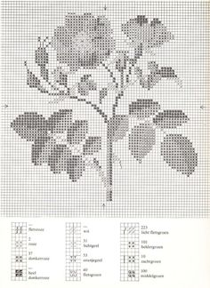 ru / Фото - Cross Stitch Pattern in Color - Mosca Cross Stitch Letters, Just Cross Stitch, Cross Stitch Needles, Cross Stitch Flowers, Cross Stitch Charts, Cross Stitching, Cross Stitch Embroidery, Blackwork, Christmas Embroidery Patterns
