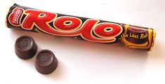 Rolo * Chewy chocolate covered caramel candy.