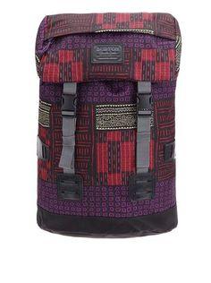 Burton - Černý batoh s barevnými vzory  WMS Tinder - 1