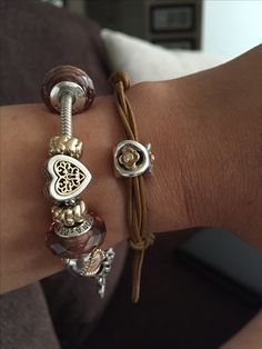 Pandora Charms in Brown                 ✿ ❀ pinterest: mjjlla ❀ ✿