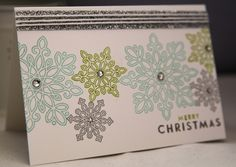 Stampin Up Flurry of Wishes
