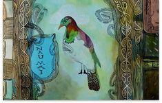 by Maori New Zealand artist, Charlotte Graham Maori People, Polynesian Art, New Zealand Art, Nz Art, Maori Art, Bird Art, Beautiful Artwork, Amazing Art, Birds