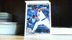1990 Upper Deck Mitch Williams Chicago Cubs #174 Baseball Card