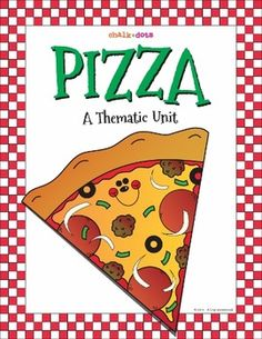 This thematic unit is great to use any time of the year to learn about and celebrate pizza!  It contains a variety of fun and creative activities that encompass many areas of the curriculum, such as reading, writing, math, and art.    This book includes: -Pizza Math  -Pizza Fractions -Pizza Adjectives -Pizza Poetry -Pizza Creative Writing -Pizza Creative Thinking -Pizza Art -Pizza Game
