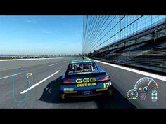 NASCAR INSIDE LINE GEN 5 and 6 Talladega Setup 204 MPH - YouTube