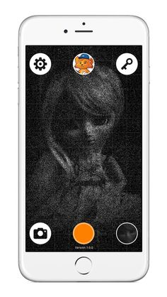 Sand Camera | Minoworks  The sketch of 4 million sand grains, Sand Camera!  This is the camera application, which is up to 4 million grains of sand gathered one by one, to express your photo taken.  https://itunes.apple.com/us/app/sand-camera/id1042628319?ls=1&mt=8