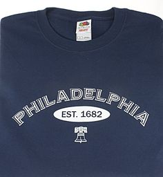 $1800 Philladelphia Tee Shirt. Pallet Lot of 1800 At Liquidationprice.com