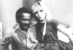 """Chuck Berry & Debbie Harry //   Article Link: Chuck Berry interviewed by punk zine Jet Lag in 1980. Berry shares his thoughts about """"what the kids are listening to these days."""""""
