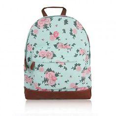 Blossom Flower Rugzak, Turquoise Pink Bags, Backpacks, Turquoise, Fashion, Moda, Fashion Styles, Backpack, Fashion Illustrations, Pink Handbags