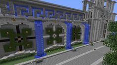 Cool Minecraft Castle Walls