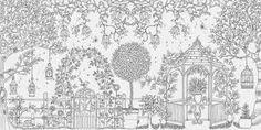 """""""秘密花园填色版""""的图片搜索结果"""