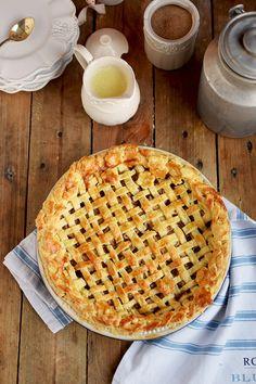 Lattice Apple Pie - Apfelkuchen Mit Knuspriger Gitter Decke | Das Knusperstübchen