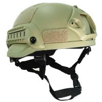 Mich 2002 Tactical Operation Airsoft Paintball Helmet wargame ARC Rail NVG Mount