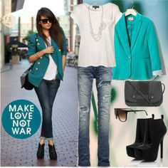 Cute Teal Jacket - Click for More...