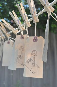 Tagged….Making your own tea-dyed tags.Do this for holiday gift tags