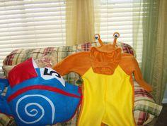 Turbo Fast Speedy Racer Snail Halloween Costume Custom Made on Etsy, $95.00