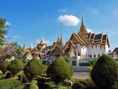 Colourful grand palace of Bangkok