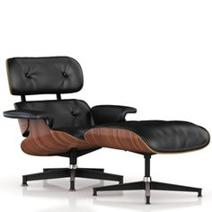 Eames Lounge Chair and Ottoman.   I've never sat in a more comfortable and luxurious chair!