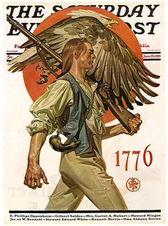 J.C. Leyendecker saturday evening post pre Rockwell