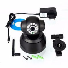 High quality!!11LED Night Vision IR Webcam Web CCTV Camera Wireless IP Camera WiFi  Pan Tilt Security