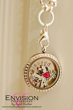 My Origami Owl Living Locket arrived! ♥ it!
