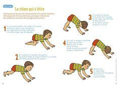 Quelques petits exercices de Yoga pour les plus grands, pour lier relaxation et developpement psychomoteur ! Bonne...